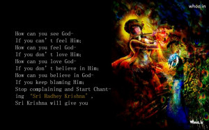 ... Quotes,Quotes of Radhe Krishna,Krishna Playing Flute With Quotes
