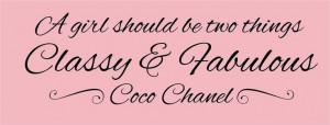 Stay classy, stay fabulous, ladies!