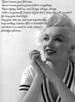 Inspirational Quotes By Marilyn Monroe