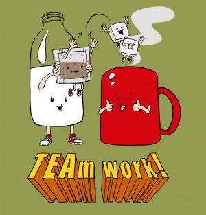 TEAm WORK & Sandwich Town!