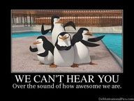 Love the Penguins of Madagascar - Skipper, Kowalski, Rico, and Private ...