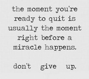 DON'T GIVE UP • NO ABANDONES