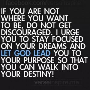 Let God Lead You