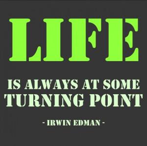 Week 35: Turning Point