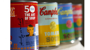 New limited edition Campbell's tomato soup cans with art and sayings ...