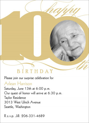 100th Birthday Invitation Image Search Results wallpaper