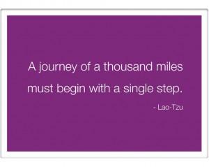 Best Journey Life Quote Lao Tzu