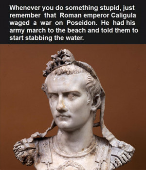an essay on the madness of gaius caligula of rome After the madness of caligula became plain for all to see it was said by the   tiberius became emperor and recalled his brother's son to rome from there he .