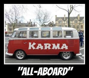 Id love to drive the karma bus :)