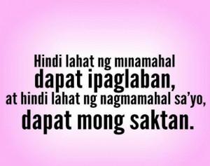 quotes, quotes, Pinoy, Pinoy Banat, Tagalog Love Quotes, jokes, memes ...