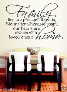 Family-Ties-Are-Precious-Threads-Wall-Quotes-Home-Decor-Wall-Stickers ...