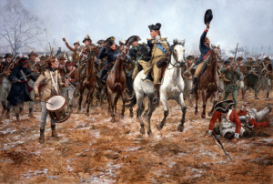 George Washington at the Battle of Princeton (Don Troiani ...
