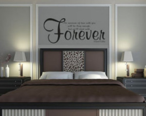 ... of Time Wall Decal Quote - Edward Cullen - Twilight -(Free Shipping