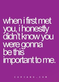 Glad I Met You Quotes And Sayings ~ I'm so glad I met you (:   Well ...