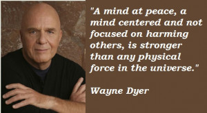 Sharing Wayne Dyer – The Importance Of Loving Thoughts