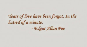 Edgar Allan Poe quotes picture 8 Wow. I remember this from high school ...