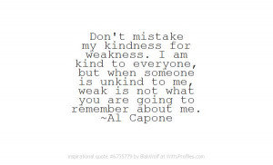 what you are going to remember about me al capone witty profiles quote ...