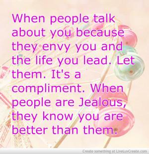 Jealous People Girls...