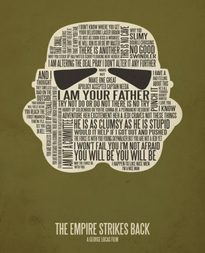 Star Wars quotes. Awesome.