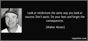 Walter Alston Quote