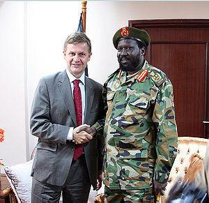 sudan riek machar south sudanese salva kiir steve biko president kiir ...