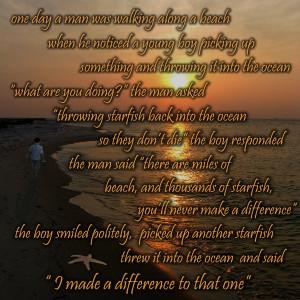 Starfish Quote by SunRyze02