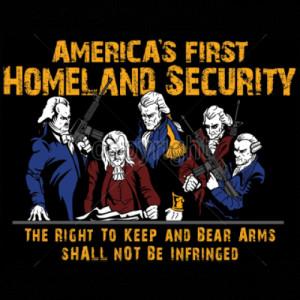 AMERICAS FIRST HOMELAND SECURITY Shirt