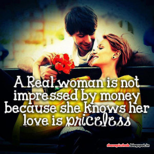 Love is Priceless Beautiful Quotes For Lovers | Cute Women Quotes in ...