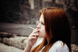 Credit: Teen smoking photo via Shutterstock