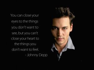 Unrequited Love Quote Johnny Depp