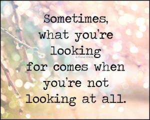 quote . love . unexpected surprises