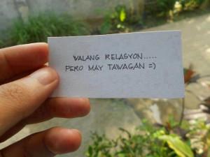 ... love quotes walang relasyon pero may tawagan sad love quotes walang