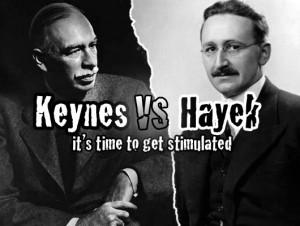Friedrich August von Hayek VS John Maynard Keynes