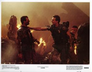 Aliens Lobby Cards – Hudson Hicks and Vasquez