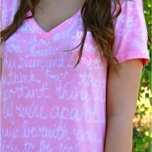 Favorite quotes tie dye
