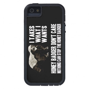 honey_badger_funny_quotes_iphone_5_cases ...