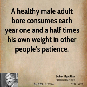 Healthy Male Adult Bore...