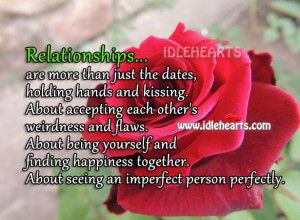 Relationship Is All About Being Yourself And Finding Happiness, Being ...