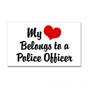 Image detail for -Cops Wife Stickers | Car Bumper Stickers, Decals ...
