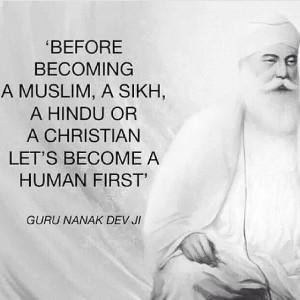 Guru Nanak Dev Ji's quote