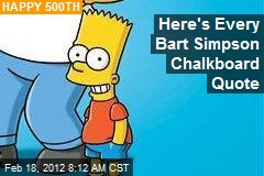 Bart Simpson – News Stories About Bart Simpson - Page 1 | Newser
