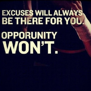 Be ready for opportunity!