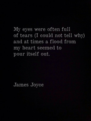 ... Quotes, Flood Heart, Dark Sad, James Joyce Quotes, My Heart, Book