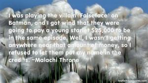 Favorite Malachi Throne Quotes