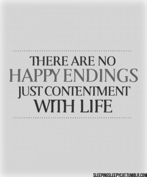 Contentment Love Quotes