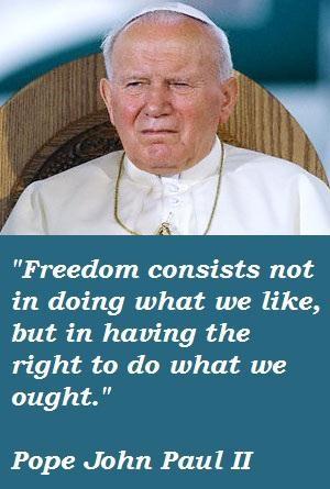 Pope john paul ii famous quotes 4