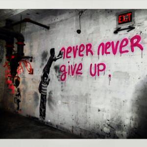 Street Art. Graffiti. Inspirational Quote. Artist: Mr. BrainwashStreet ...