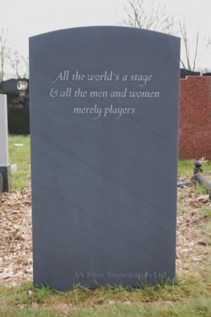 Headstone Epitaphs- 150 beautiful examples