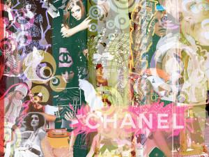 Fashion wallpaper chanel