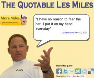 The Quotable Les MilesAn idea whose time has come.
